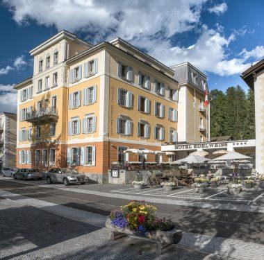 Hotel Edelweiss | Sommer Terrasse