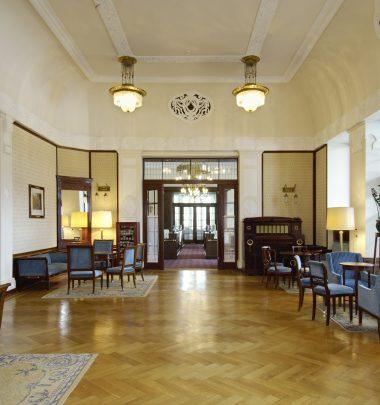 Hotel Waldhaus Sils | Blauer Salon