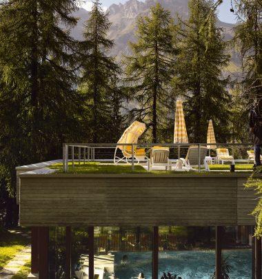 Hotel Waldhaus Sils | Terrasse