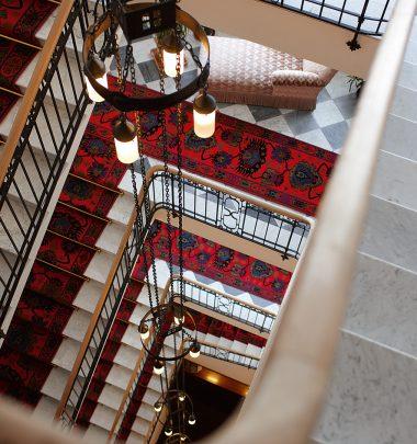 Hotel Waldhaus Sils | Treppenhaus