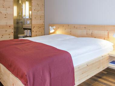 Hotel Schweizerhof Sils | Doppelzimmer ohne Balkon