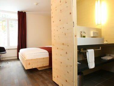 Hotel Schweizerhof Sils | Einzelzimmer ohne Balkon