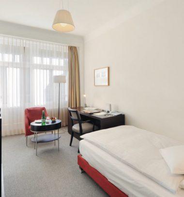 Hotel Waldhaus Sils | Einzelzimmer Standard